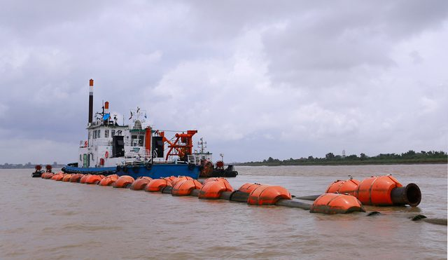 Great Bell of Dhammazedi dredging myanmar