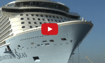 Watch: Quantum of the Seas Float-Out at Meyer Werft