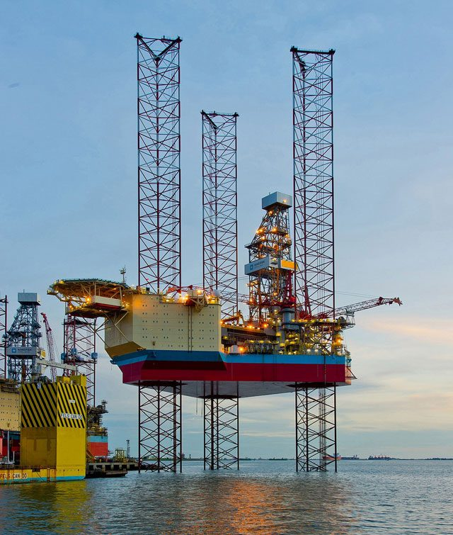 XLE 2 jackup rig maersk drilling