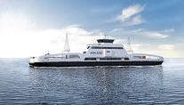 All-Electric Ferry Named 'Ship of the Year' at SMM
