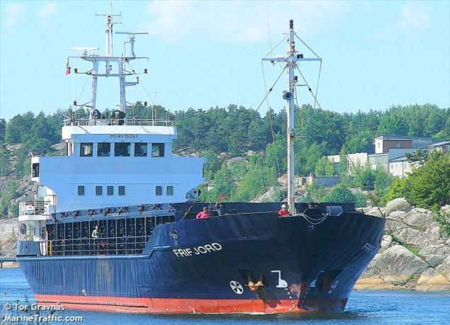 The MV Frifjord (c) MarineTraffic.com/