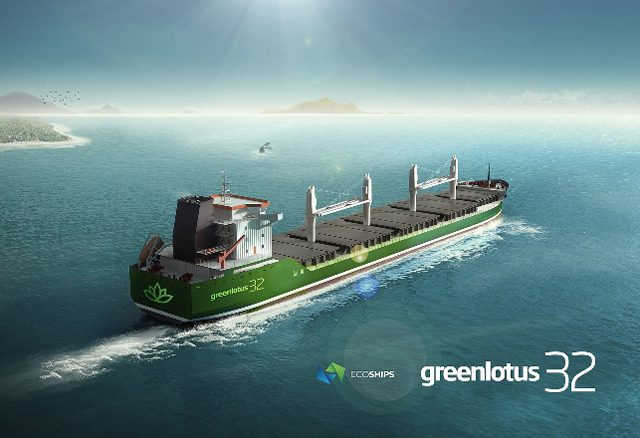 green lotus 32 bulk carrier