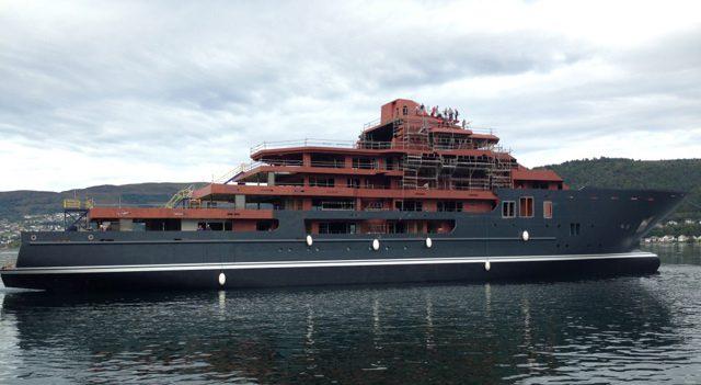 kleven verft ulysses yacht