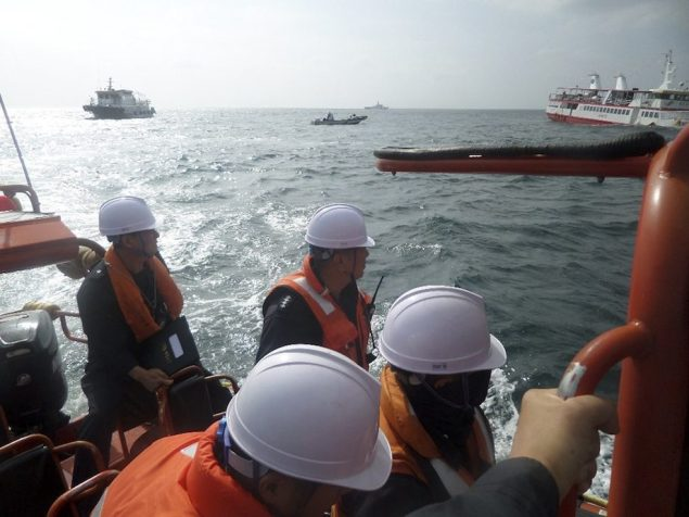 REUTERS/South Korean Coast Guard/Yonhap