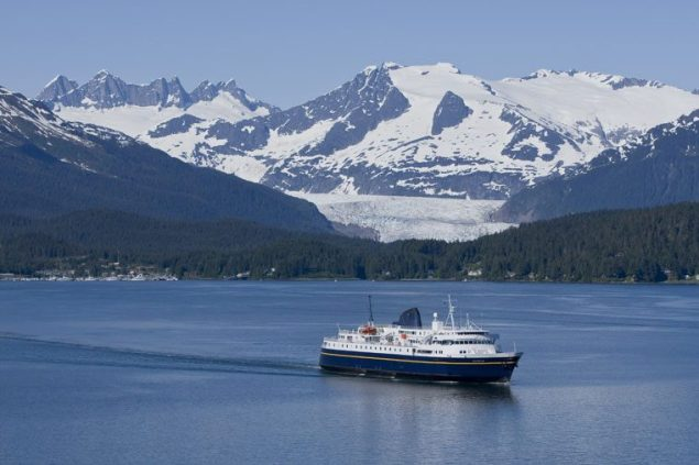 MV Malaspina departing Juneau, Alaska. Photo © John Hyde