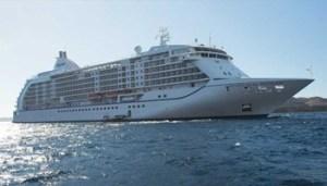 "Regent Cruise Lines' ""Seven Seas Mariner"". Photo courtesy"