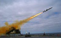 USS Coronado Fires Kongsberg-Designed Missile