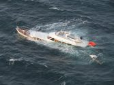 Coast Guard Rescues Two From Sinking Yacht in Washington [PHOTOS]