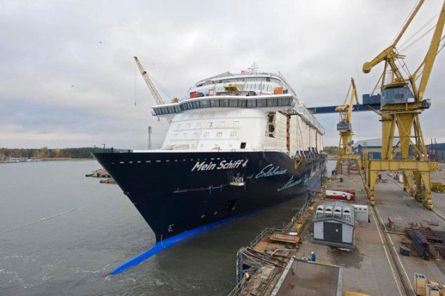Mein Schiff 4. Photo credit Meyer Turku
