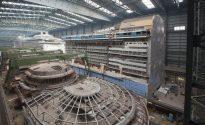 Video: Mega-Block Construction at Meyer Werft