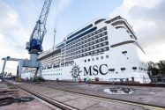 MSC Magnifica to Receive New Rudders at Damen Shiprepair Rotterdam