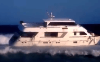 This Is What Happens When You Run Your Luxury Yacht Aground in Brazil