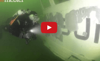 Scuttled Train Ferry Aerosund II Is Denmark's Newest Artificial Reef [VIDEO]