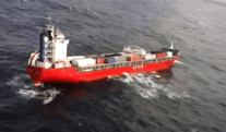 Update: Tow Line Secured to Adrift Cargo Ship Off British Columbia