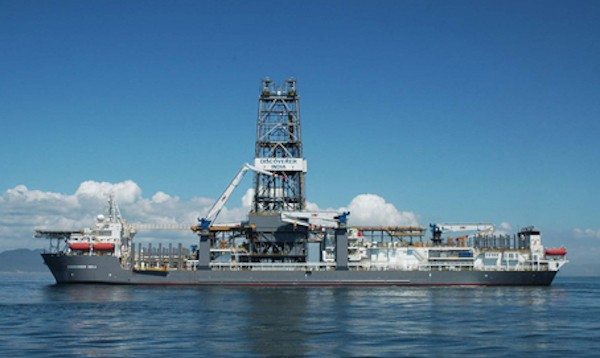 Deepwater India drillship. Photo credit: Chevron