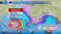 Bering Sea In Crosshairs of Monster Storm