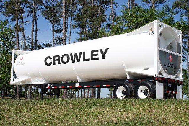 crowley iso lng tank