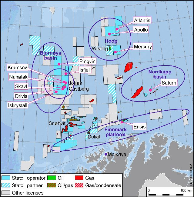 statoil barents sea exploration campaign