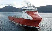 The LNG-powered MV Rem Eir platform supply vessel. Photo: Kleven