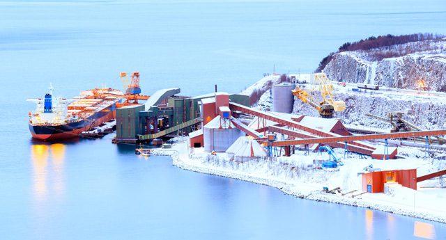 narvik iron ore bulk carrier