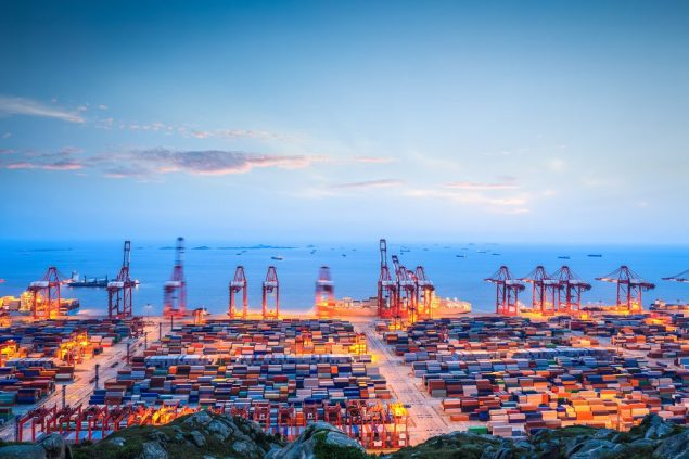 Port of Shanghai file photo (c) Shutterstock/chungking