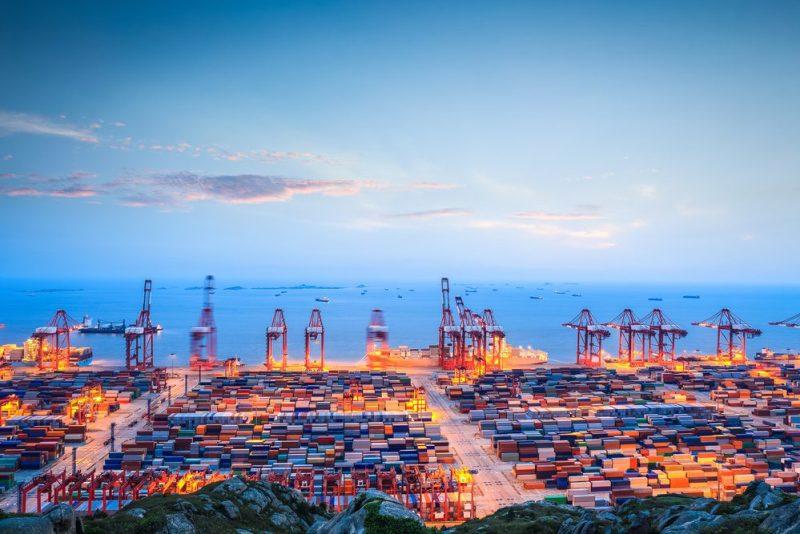 Port of Shanghai file photo (c) Shutterstock/chungking