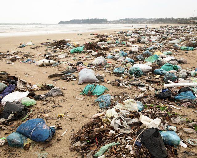 garbage sea ocean beach pollution environment