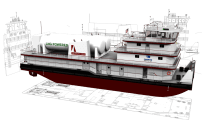 LNG Powered Towboat Design Receives Approval in Principle