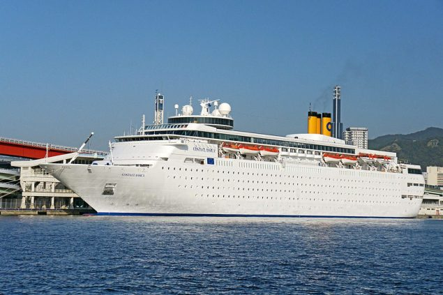 File photo of the Costa neoClassica (formerly Costa Classica). Photo: Wikimedia Commons