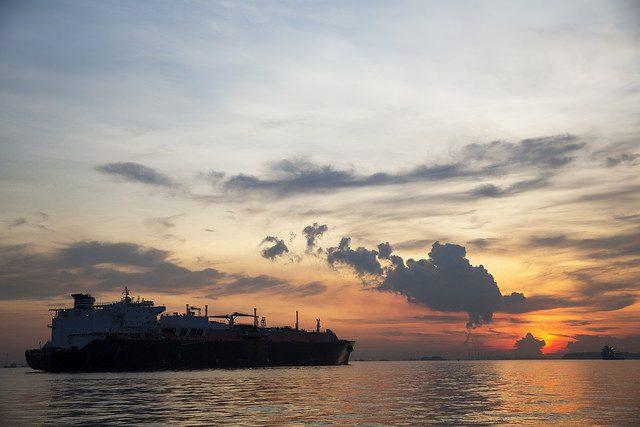 BG Group Methane Kari Elin LNG carrier
