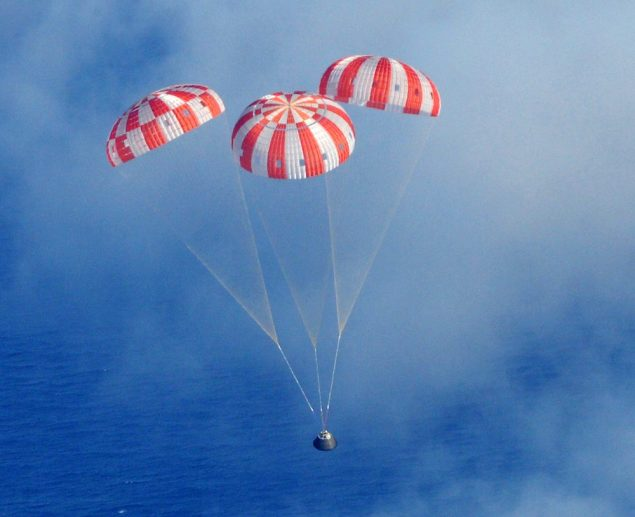 U.S. Navy and NASA Team up for Exploration Flight Test - 1