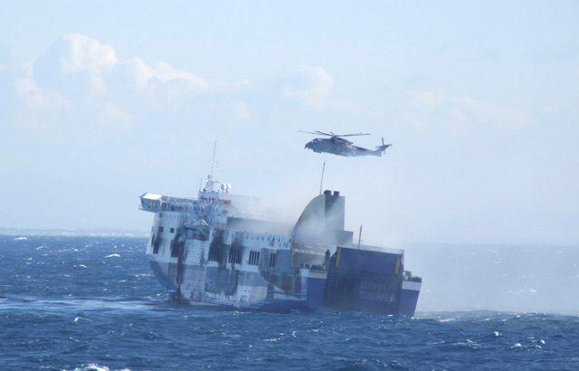norman atlantic ferry fire