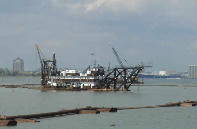 6,100 horsepower Essex. File photo courtesy Norfolk Dredging Company