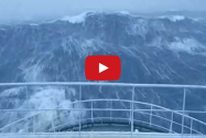 Video: Ship Takes On Monster Waves