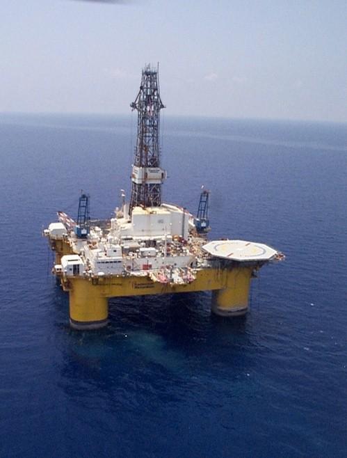 Sovereign Explorer drilling rig