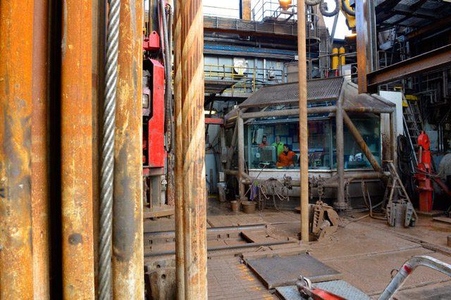 Gudrun plattform West Epsilon boredekk drilling floor