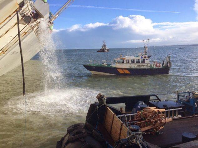 Pumpin operations. Photo courtesy MCA