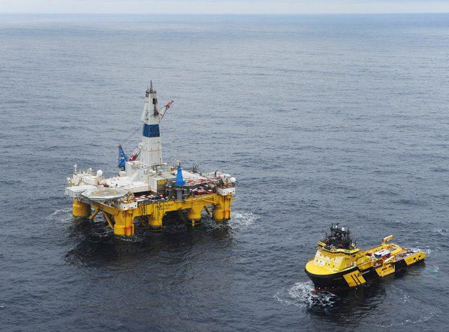 polar pioneer drilling rig statoil transocean johan castberg