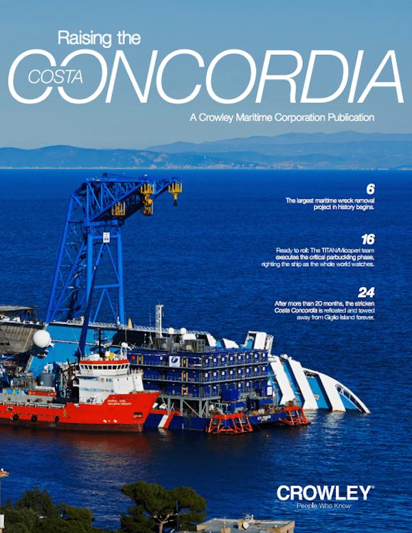 Raising the Costa Concordia Cover