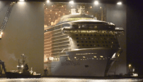 'Anthem of the Seas' Float-Out at Meyer Werft [VIDEOS]