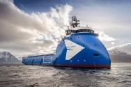Ulstein Delivers 'Blue Queen' Platform Supply Vessel