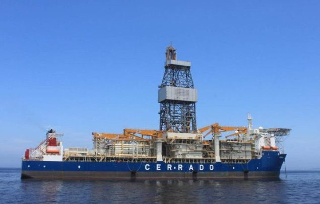 Cerrado drillship. Photo courtesy Schahin