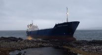 MV Lysblink Seaways Drags Anchor Amid Salvage Off Scotland