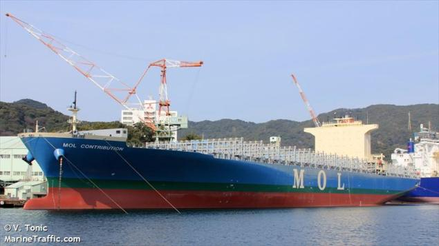 File photo of MOL Contribution (c) MarineTraffic/V.Tonie