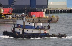 The 62-foot, twin screw MV Sea Bear. Photo courtesy Wittich Bros. Marine, Inc.