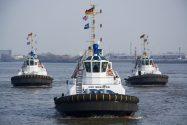 Damen Delivers New ASD Tugs for Hamburg