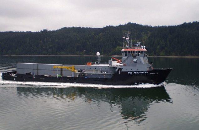HOS Arrowhead. Photo courtesy Military Sealift Command