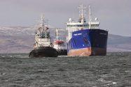 Lysblink Seaways Arrives Safely in Greenock for Repairs