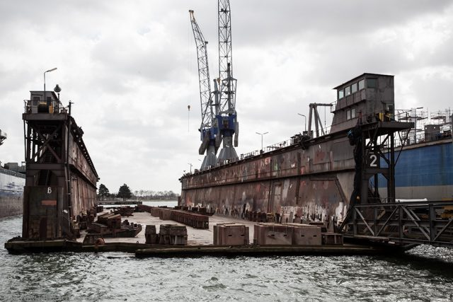 damen ship repair drydock