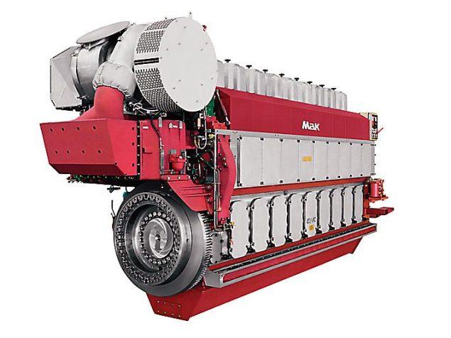 m 32 c medium speed diesel mak engine caterpillar